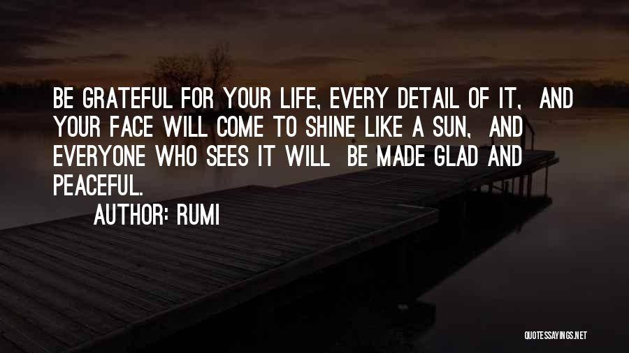 I Am Glad Your In My Life Quotes By Rumi