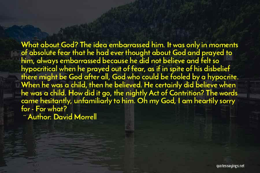 I Am God's Child Quotes By David Morrell