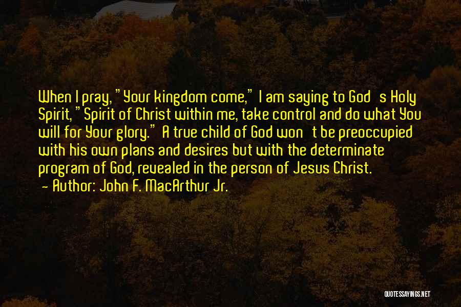 I Am God's Child Quotes By John F. MacArthur Jr.