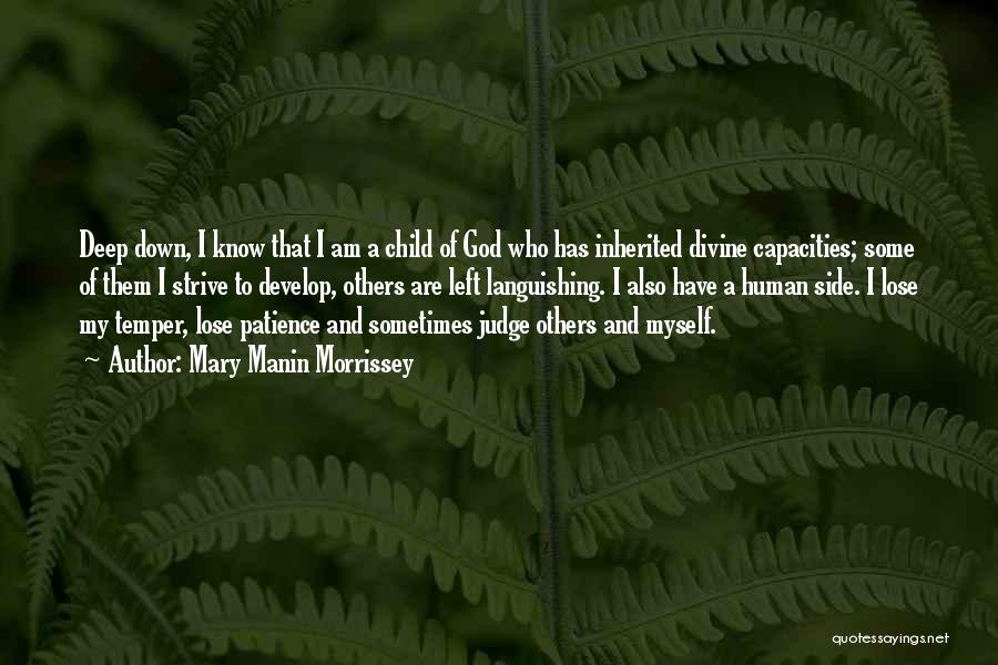 I Am God's Child Quotes By Mary Manin Morrissey
