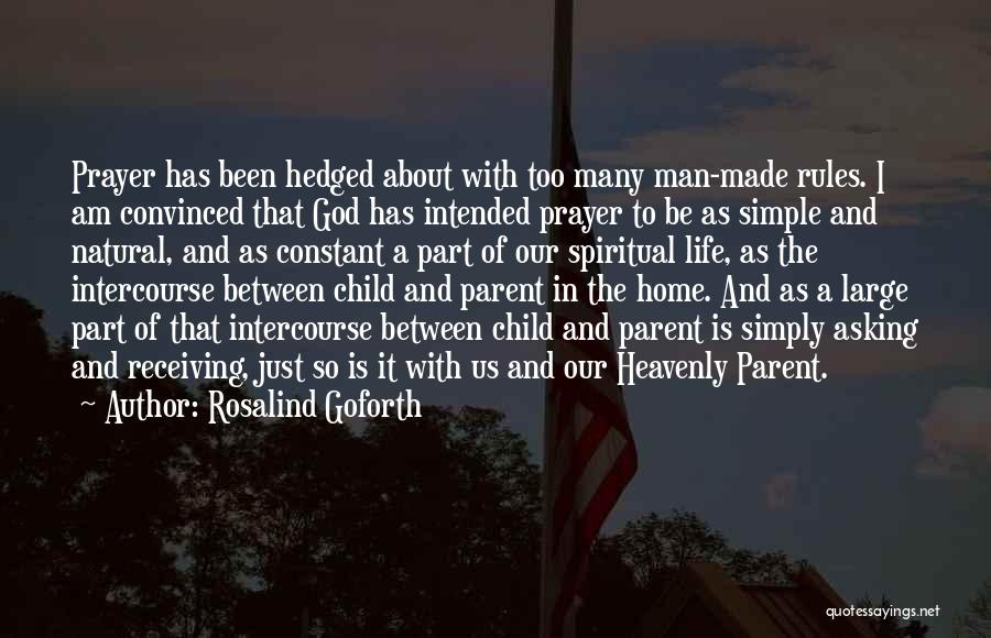 I Am God's Child Quotes By Rosalind Goforth