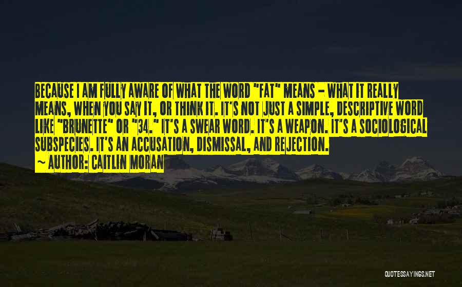 I Am Just Simple Quotes By Caitlin Moran