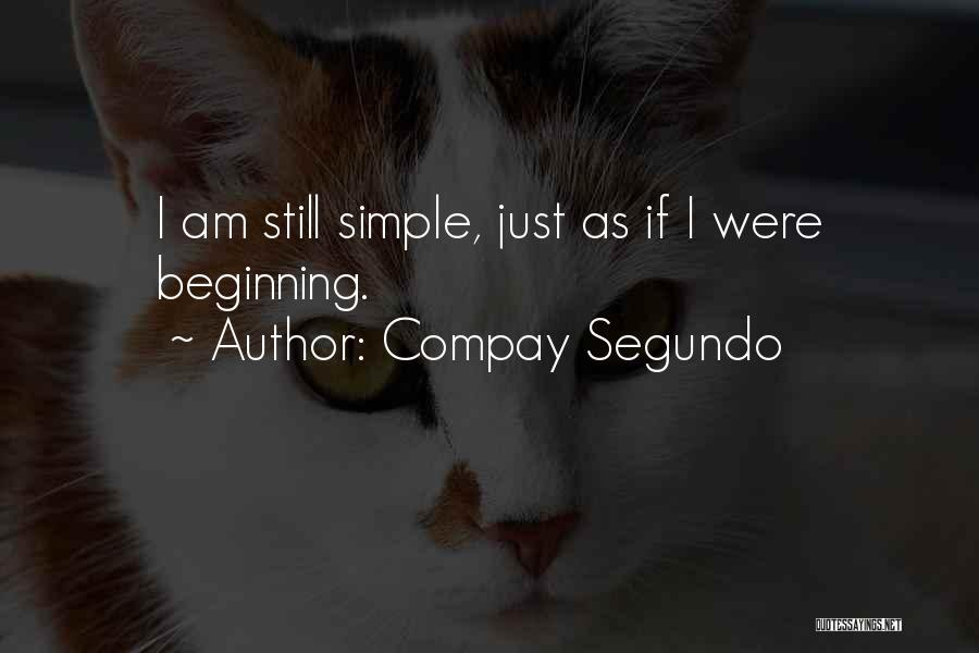 I Am Just Simple Quotes By Compay Segundo