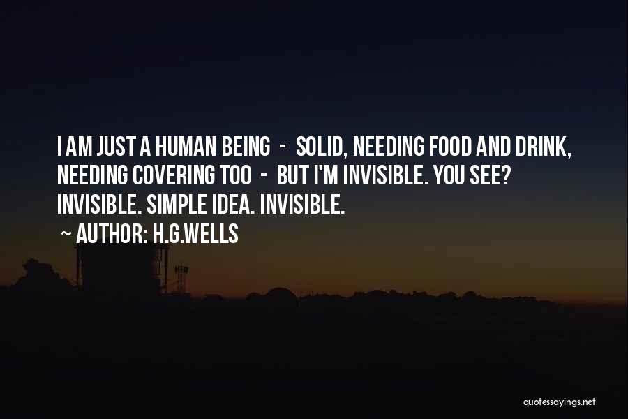 I Am Just Simple Quotes By H.G.Wells