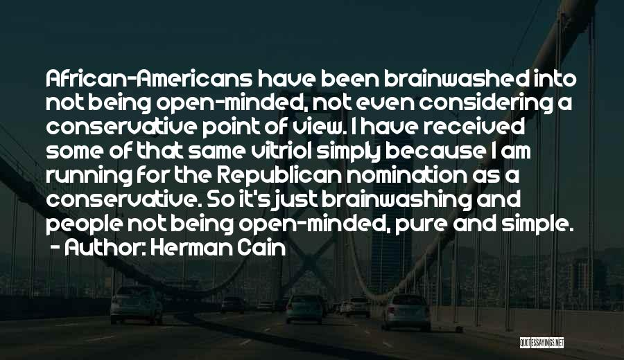 I Am Just Simple Quotes By Herman Cain