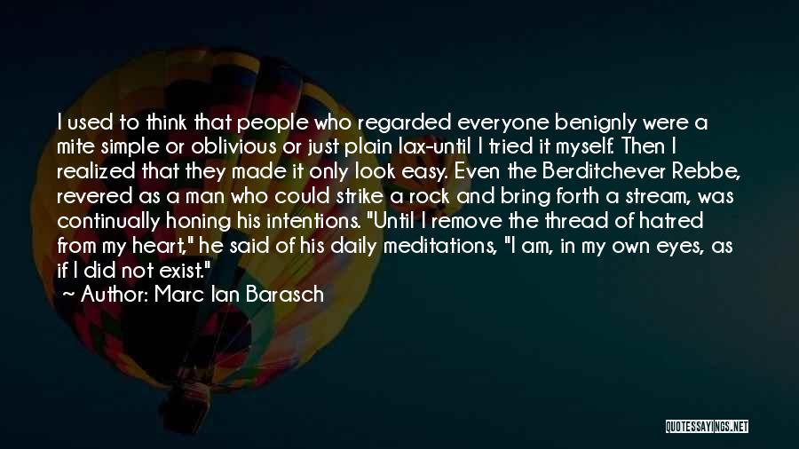I Am Just Simple Quotes By Marc Ian Barasch