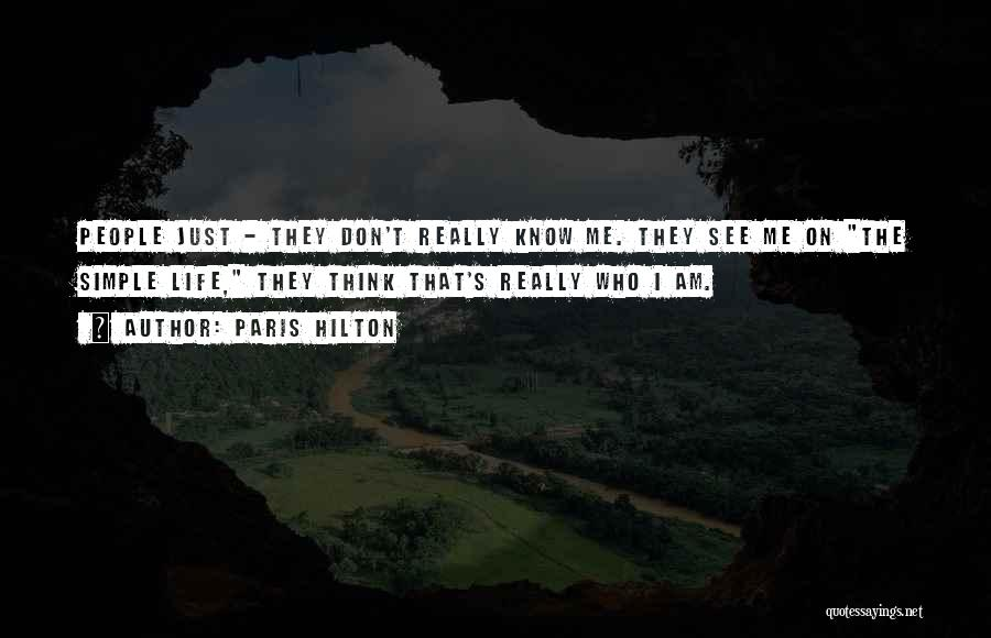 I Am Just Simple Quotes By Paris Hilton
