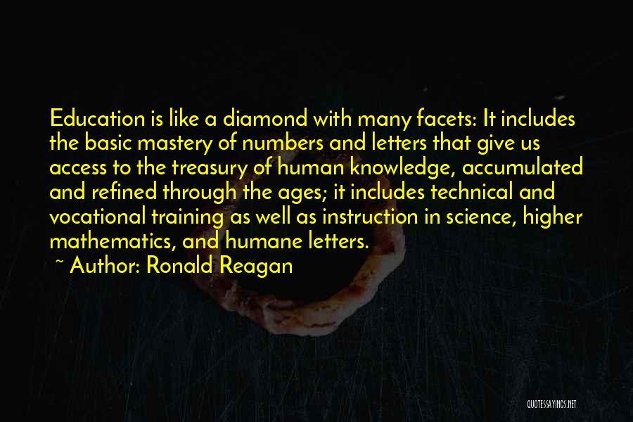 I Am Like A Diamond Quotes By Ronald Reagan