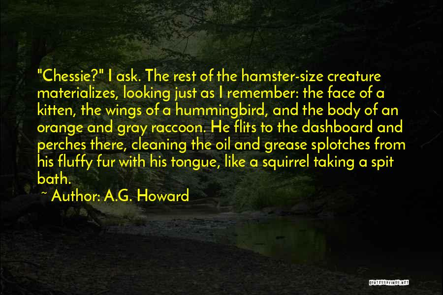 I Am Looking Cute Quotes By A.G. Howard
