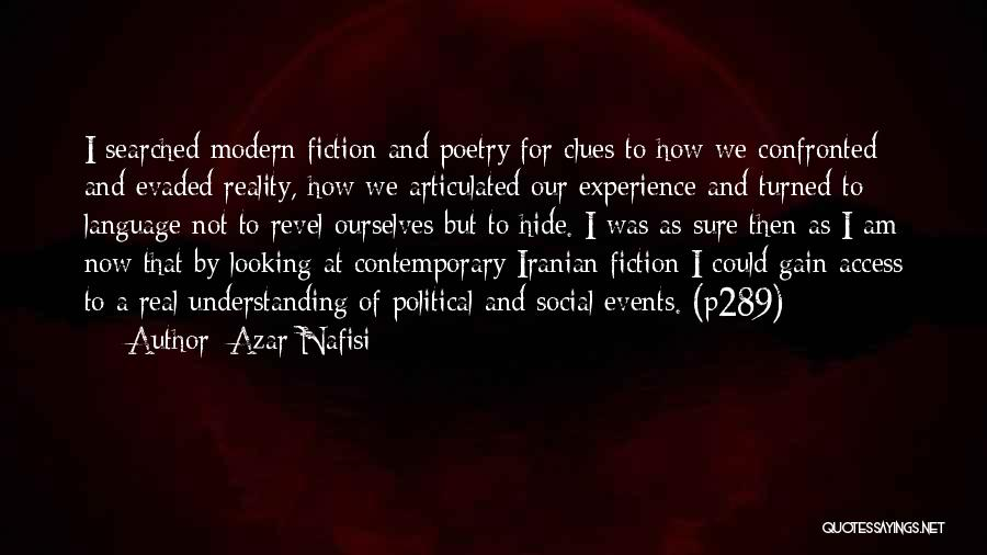 I Am Looking Quotes By Azar Nafisi