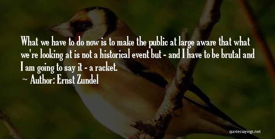 I Am Looking Quotes By Ernst Zundel
