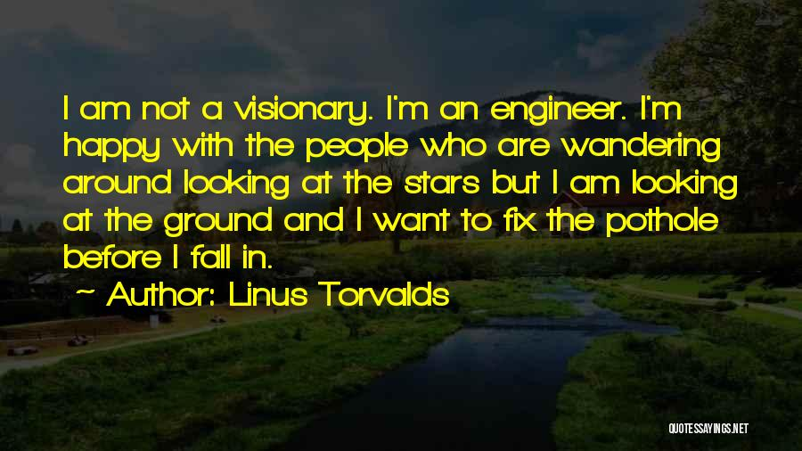 I Am Looking Quotes By Linus Torvalds