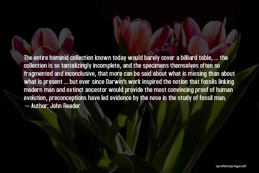 I Am Missing You Today Quotes By John Reader