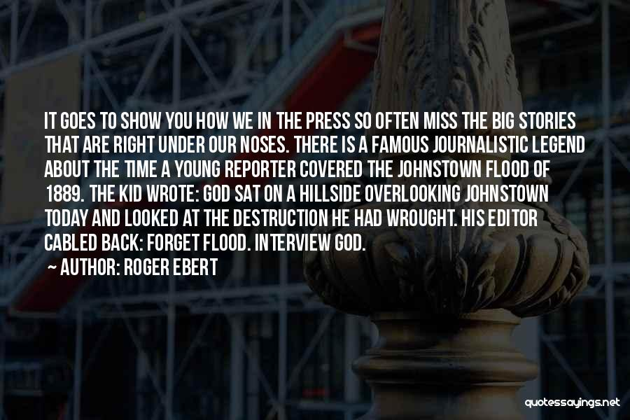 I Am Missing You Today Quotes By Roger Ebert