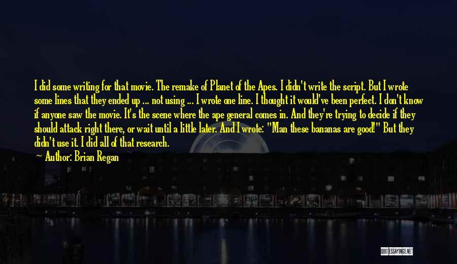 I Am Not A Perfect Man Quotes By Brian Regan