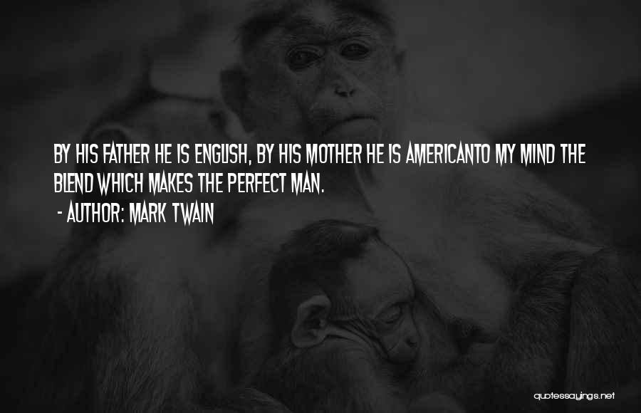 I Am Not A Perfect Man Quotes By Mark Twain