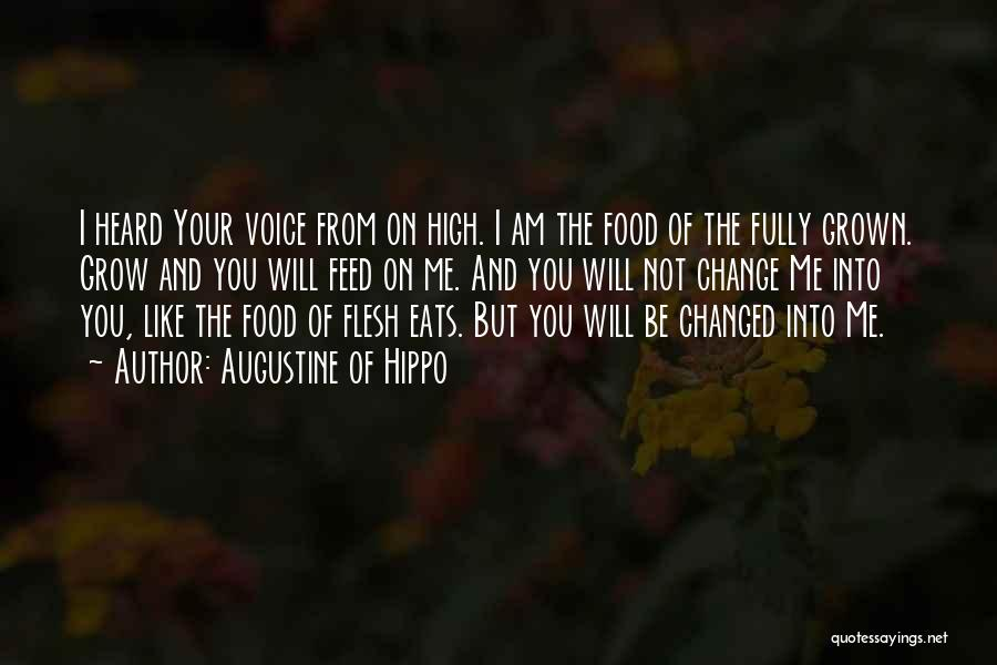 I Am Not Changed Quotes By Augustine Of Hippo