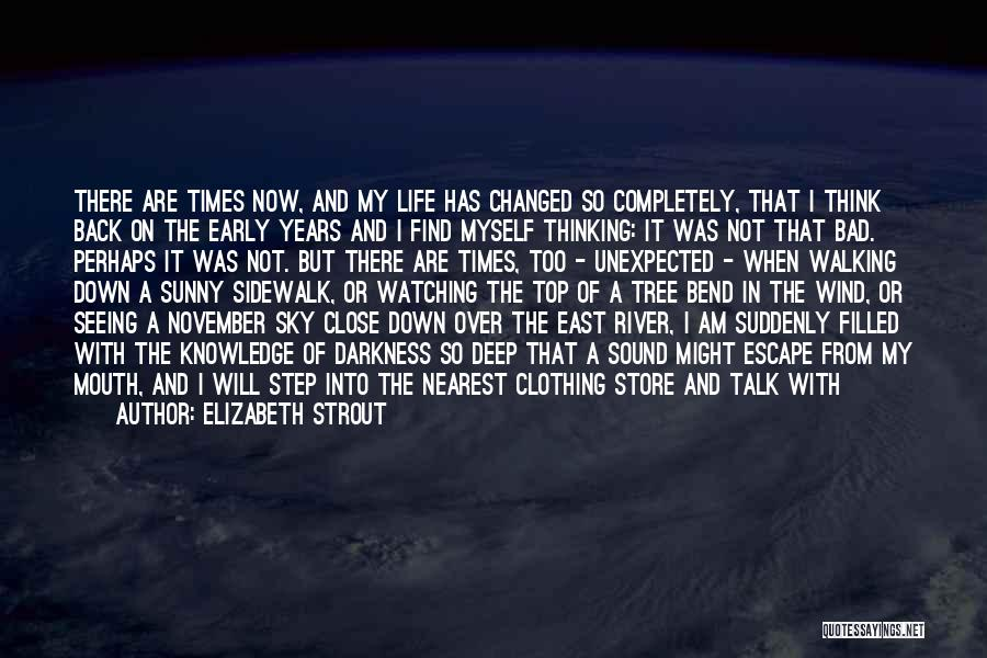 I Am Not Changed Quotes By Elizabeth Strout