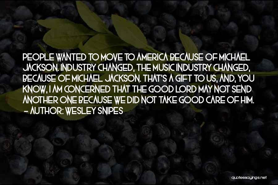 I Am Not Changed Quotes By Wesley Snipes
