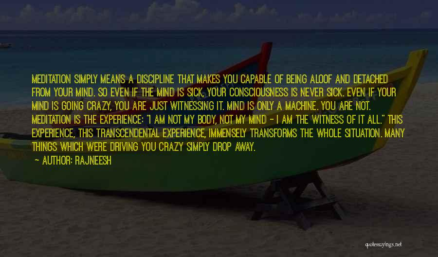 I Am Not Crazy Quotes By Rajneesh