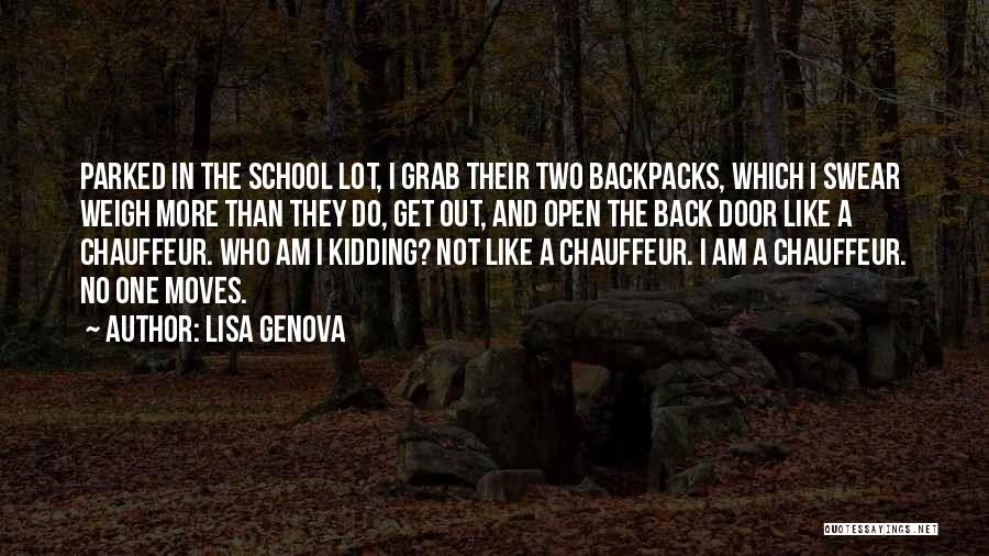 I Am Not Kidding Quotes By Lisa Genova