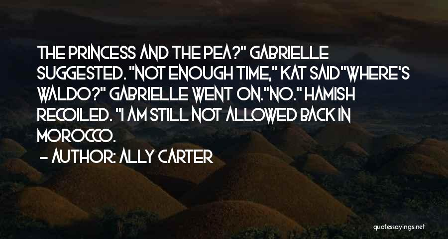 I Am Not Princess Quotes By Ally Carter