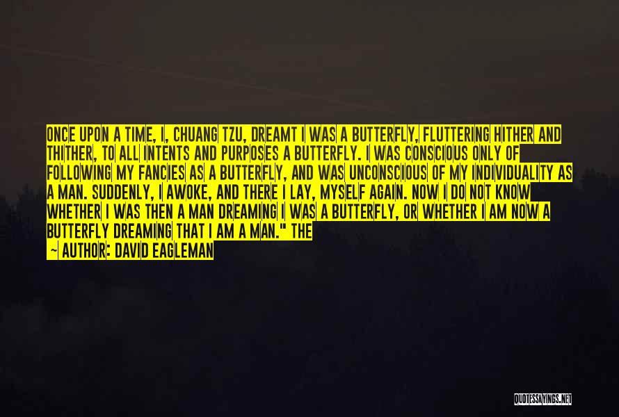 I Am Only A Man Quotes By David Eagleman