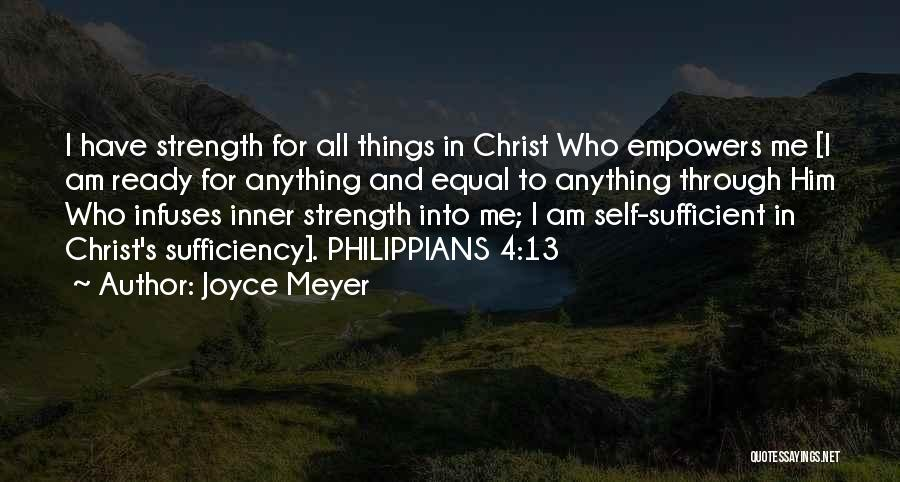 I Am Ready For Anything Quotes By Joyce Meyer