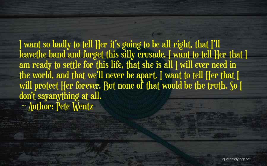 I Am Ready For Anything Quotes By Pete Wentz