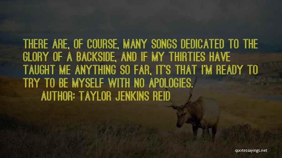 I Am Ready For Anything Quotes By Taylor Jenkins Reid
