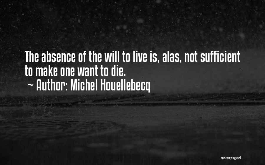 I Am Self Sufficient Quotes By Michel Houellebecq