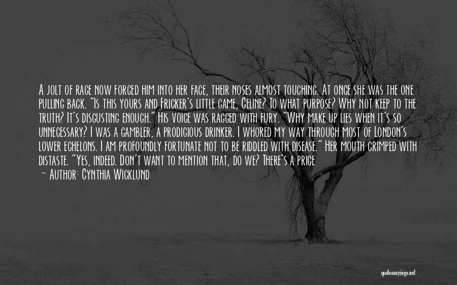 I Am So Fortunate Quotes By Cynthia Wicklund