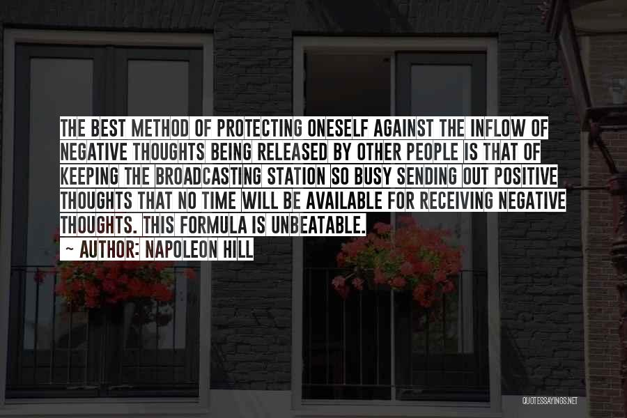 I Am Unbeatable Quotes By Napoleon Hill