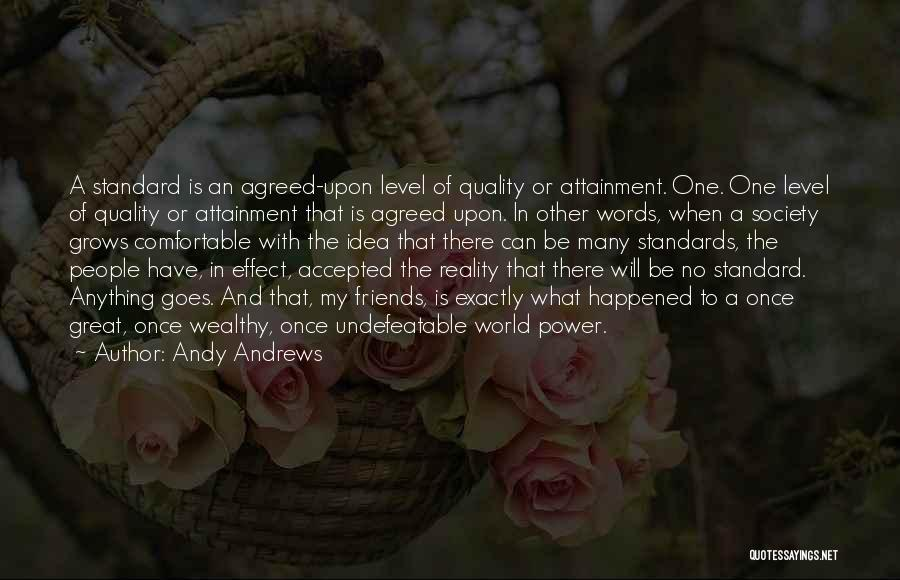 I Am Undefeatable Quotes By Andy Andrews