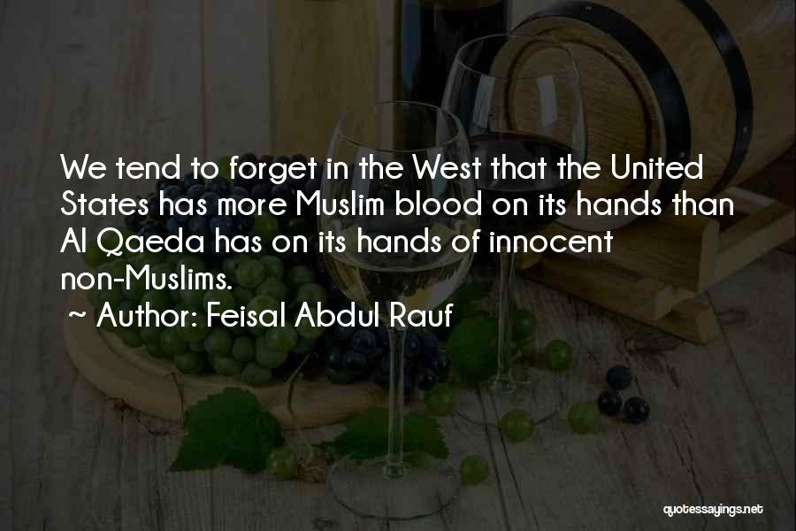 I Am Very Innocent Quotes By Feisal Abdul Rauf