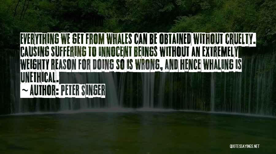 I Am Very Innocent Quotes By Peter Singer