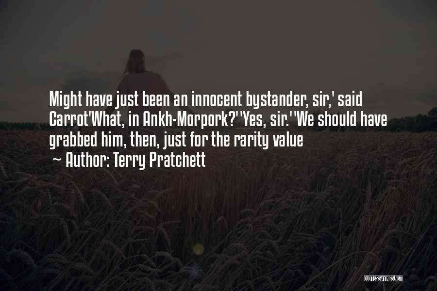 I Am Very Innocent Quotes By Terry Pratchett