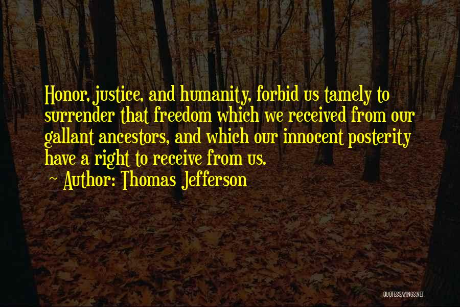 I Am Very Innocent Quotes By Thomas Jefferson