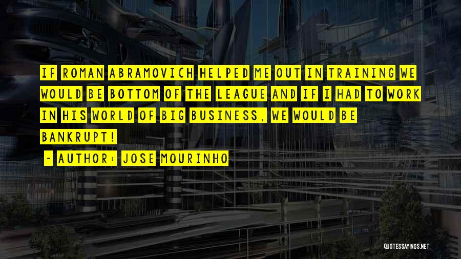 I And We Quotes By Jose Mourinho