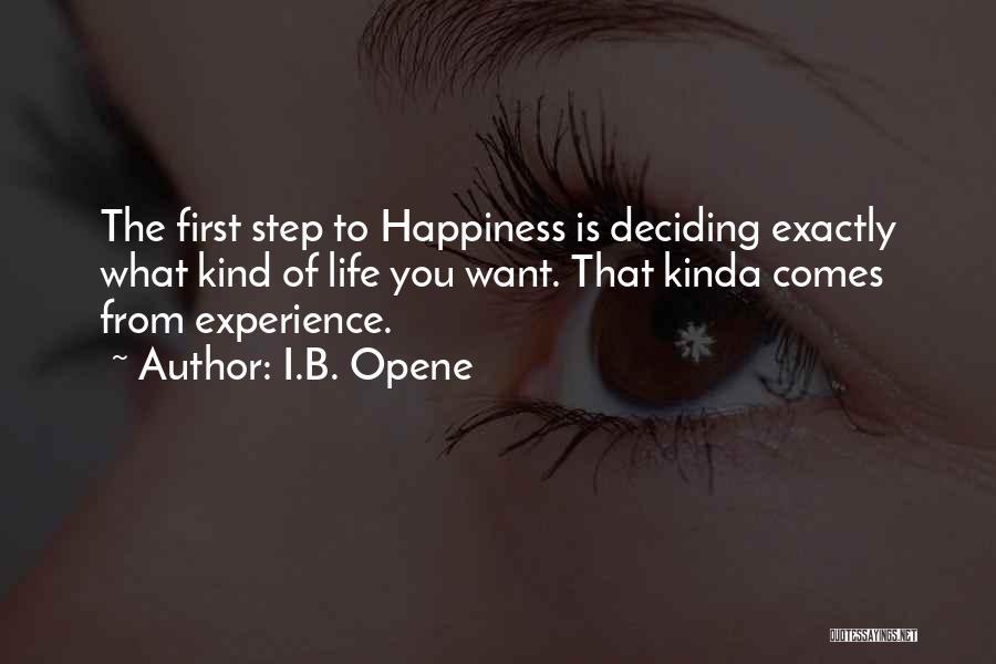 I.B. Opene Quotes 1643048