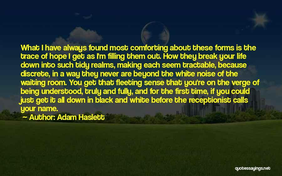 I Break Down Quotes By Adam Haslett