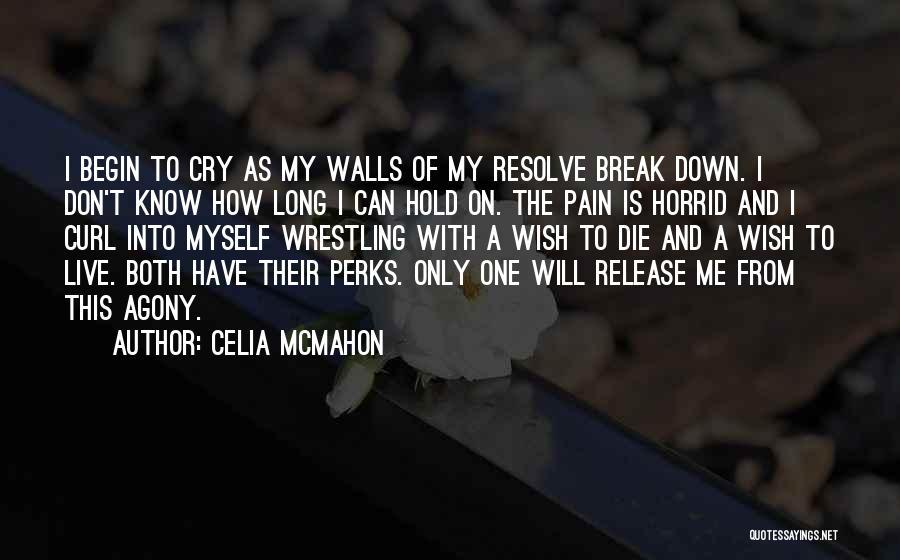 I Break Down Quotes By Celia Mcmahon