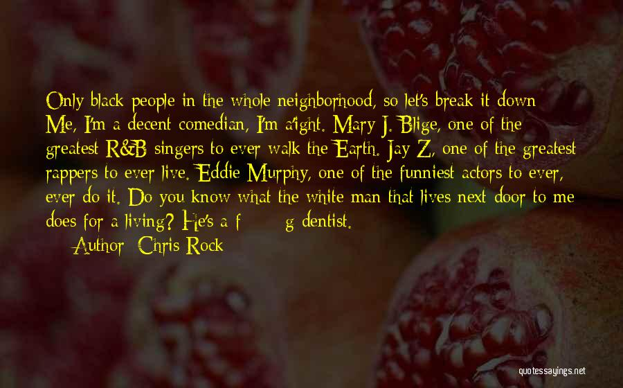 I Break Down Quotes By Chris Rock