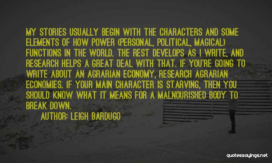I Break Down Quotes By Leigh Bardugo