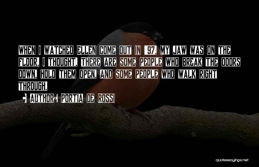 I Break Down Quotes By Portia De Rossi