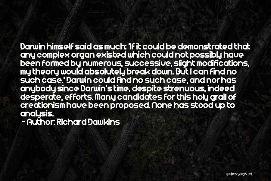 I Break Down Quotes By Richard Dawkins