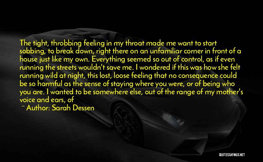I Break Down Quotes By Sarah Dessen