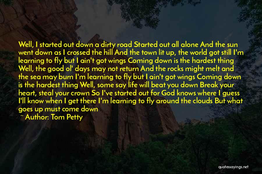 I Break Down Quotes By Tom Petty
