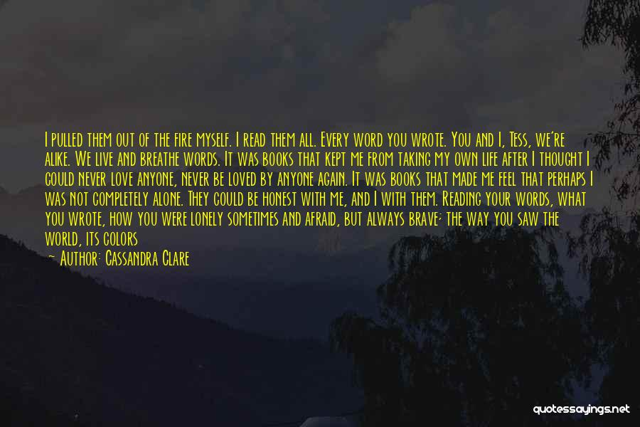 I Breathe Your Love Quotes By Cassandra Clare