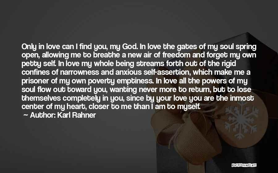 I Breathe Your Love Quotes By Karl Rahner